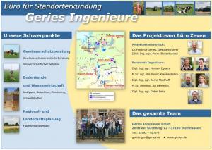 Ihr Vor-Ort-Team Geries Ingenieure GmbH